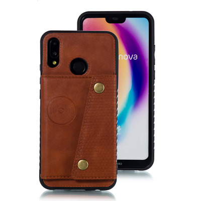 AU8.66 • Buy For OPPO Reno 5 / 5 Pro / 10X Zoom Wallet PU Leather Stand Card Slot Cover Case