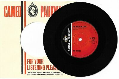 £4.99 • Buy So Much In Love By The Tymes 7  45RPM Single 1963 Cameo Parkway P 871 *EX-*