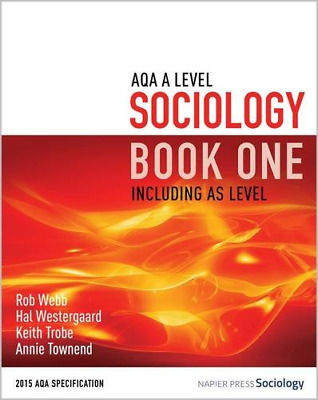 £31.18 • Buy AQA A Level Sociology Book One Including AS Level: Book One
