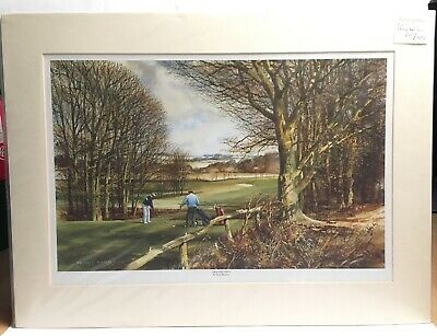 £26 • Buy The Long Drive By Terry Harrison Print Mounted