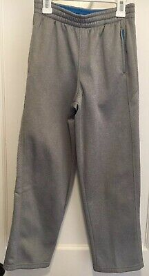 $8.50 • Buy Boys Tek Gear Gray Fleece Line Drawstring Sweat Athletic Pants Size M