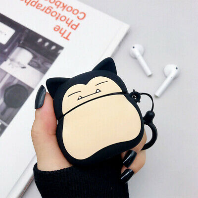 $ CDN5.27 • Buy For AirPods Pro Case 3D Pokemon Snorlax Silicone Earphone Charging Case Cover