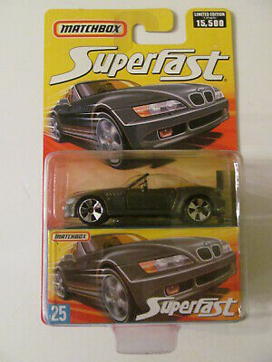 $11.99 • Buy Matchbox Superfast - #25 - BMW Z3 - Sealed