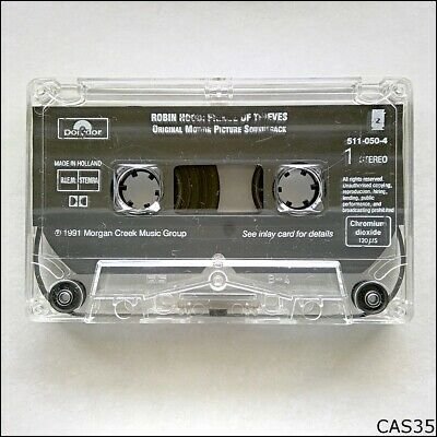 Robin Hood Prince Of Thieves Original Picture Soundtrack Tape Cassette (C35) • 3.93£