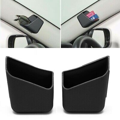 $8.59 • Buy 2X Universal Car Auto Accessories Glasses Organizer Storage Box Holder