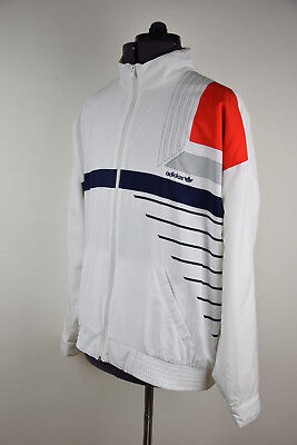 * Adidas Vintage Tracktop Tennis Jacket West Germany 80's • 59£