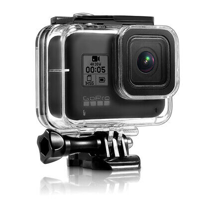 GoPro Hero 8 Waterproof Housing Case Camera Underwater Protect Case Cover Shell • 11.37£