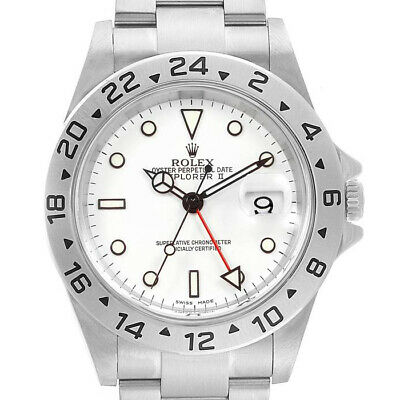 $ CDN13860.91 • Buy Rolex Explorer II 16570 Men's Stainless Steel Automatic White 1 Year Warranty