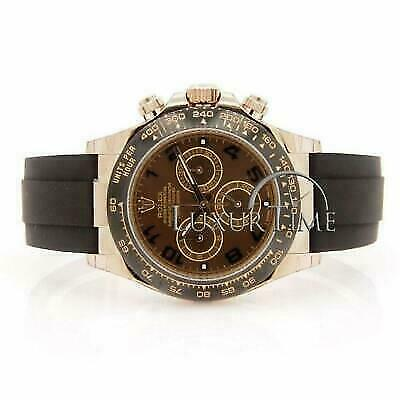 $ CDN42353.44 • Buy Rolex Daytona 116515 Men's Chocolate Yellow Gold 40mm Automatic 1 Year Warranty