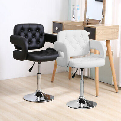 £39.99 • Buy Beauty Salon Chair PU Leather Barber Hairdressing Swivel Chair Kitchen Bar Stool