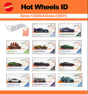 New 2019 Hot Wheels ID Uniquely Identifiable Vehicles You Pick - Series 1 Apple • 9.99$