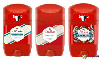 Old Spice Deodorant Roll On Stick Mens 50ml Stay Fresh • 5.49£