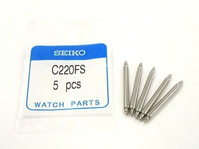 $ CDN17.47 • Buy  GENUINE SEIKO Spring Bars C220FS 22mm FAT BARS - 5 Pieces Fits SKX173 SKX009