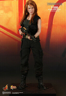 AU758.88 • Buy Hot Toys 1/6 Terminator 2 Mms125 T-1000 In Sarah Connor Disguise Action Figure