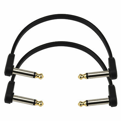 $ CDN25.25 • Buy D'Addario PW-FPRR-206 Angled Flat Patch Cable For Guitar Pedals, 6 , Twin Pack