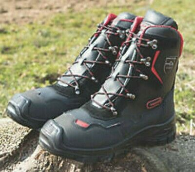 Oregon Yukon Chainsaw Leather Safety Boots Class 1 (20 M/s) - All Sizes • 77.95£