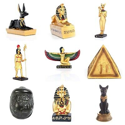 £9.99 • Buy Ancient Egyptian Figurine Egypt Figures Novelty Ornament Gold Statues Sculptures