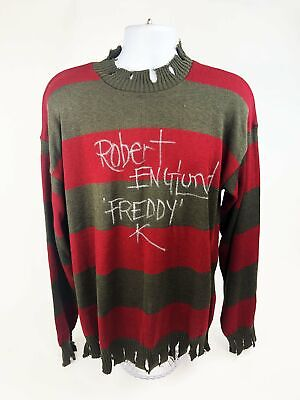 Robert Englund Autograph Official Licensed Freddy Krueger Sweater Signed JSA COA • 424.74£