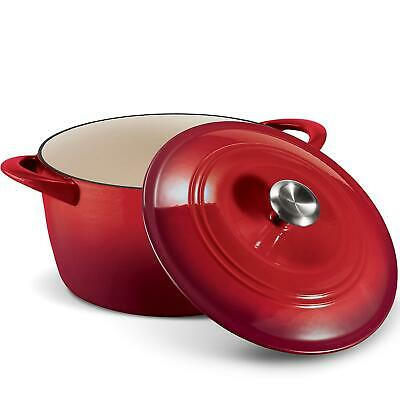 $ CDN76 • Buy Tramontina Enameled Cast Iron Dutch Oven 7 Qt Red   FAST FREE SHIPPING!!!!