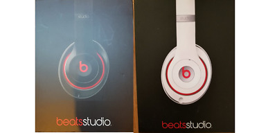 Beats By Dr. Dre Studio 2.0 Wired Over-ear Headphone Model B0500 Black/Red • 53.95£