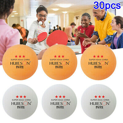 AU19.97 • Buy 30pcs Professional Table Tennis Balls Ping Pong Training Competition Sports 40mm