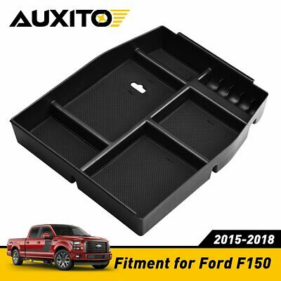 $15.99 • Buy Armrest Box Storage Box For Ford F150 2015-2018 Car Interior Accessories Black