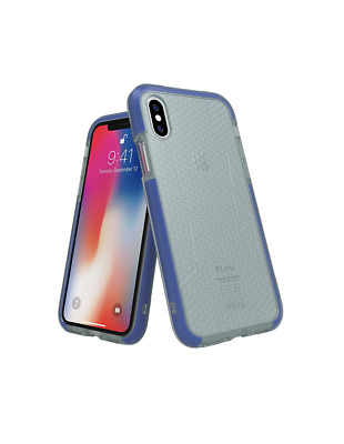 AU23.73 • Buy Apple IPhone X / Apple IPhone XS Adidas Dual Layer Agravic Rear Phone Case Blue
