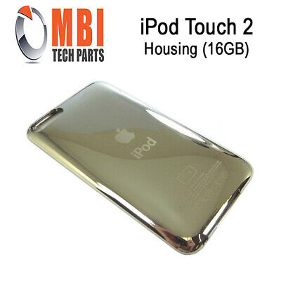 IPod Touch 2 2nd Replacement Metal Back Housing Cover Case Silver 16GB • 6.22£