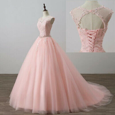 £92.23 • Buy Sweet 16 Prom Dress Applique Quinceanera Dresses Ball Gown Formal Evening Gowns