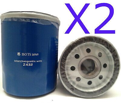 AU13.60 • Buy 2x New Oil Filter Fit Interchangeable With Ryco Z432 - Wesfil WZ432