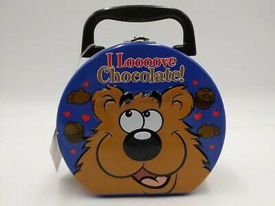 I Love Chocolate Bear Small Tin **No Sound Box**MY FAVORITE COMPANY INC • 7.05£