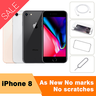 AU399.98 • Buy APPLE IPhone 8 64GB 256GB  Smartphone Factory Unlocked AS NEW No Marks