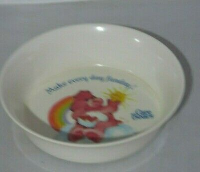 £10.97 • Buy Vintage Care Bears Fun Love A Lot Plastic Bowl By Silite - 6.5 Inch Diameter