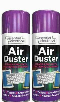 £8.95 • Buy 2 X Compressed Air Duster Spray 400ml