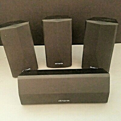 $47.45 • Buy Aiwa Surround System Speakers Home Theater 1-SX-C1900 1-SX-R1900 2-SX-AV1900