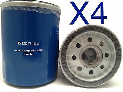 AU12 • Buy 4x Oil Filter Suits RYCO Z432 // (F432