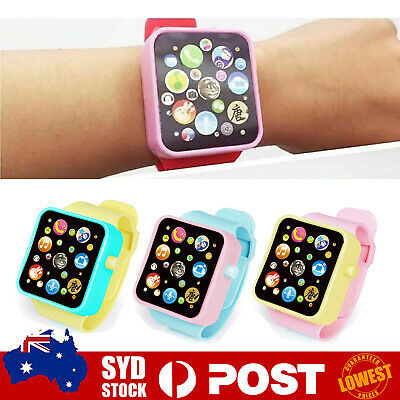 AU5.79 • Buy Educational Smart Watch Early Learning Touch Screen Music Baby Kids Toy New O