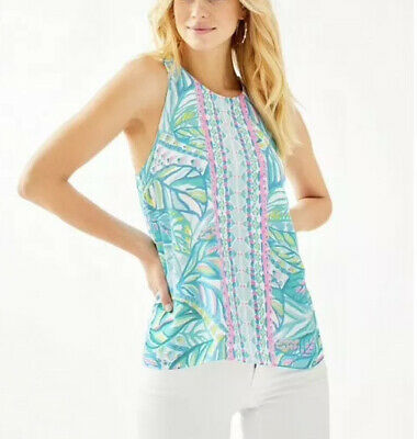 NWT Lilly Pulitzer Lyle Top Maraca My World, Medium (M) • 35$