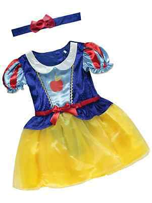 £17.99 • Buy BABY Girls Disney Snow White  Party Costume Fancy Dress Outfit 6-24  Months