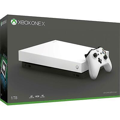 Microsoft Xbox One X 1TB Console Limited/ Special Edition- WHITE CONSOLE • 650$