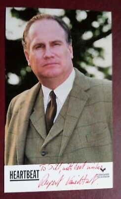 Heartbeat - Rupert Vansittart Signed Promotional Card • 12.99£