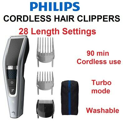 AU64.90 • Buy PHILIPS CORDLESS Mens Beard Shaver Trimmer Clipper With Guides USB Charging NEW