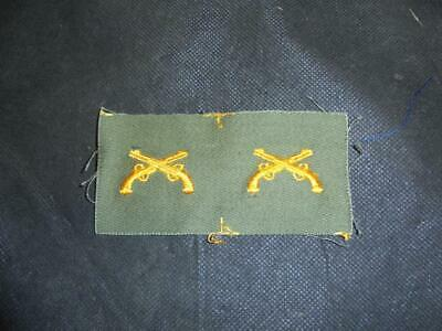 1950/60s PAIR US Army Military Police Corps Cloth Combat Collar Insignia Badges • 5.99£