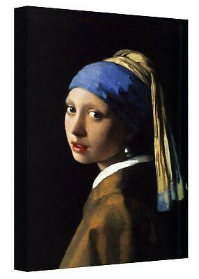 £29.99 • Buy Canvas Wall Art Print Girl With A Pearl Earring Vemeer Reproduction Painting