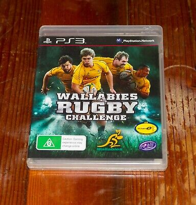AU4 • Buy Wallabies Rugby Challenge - PS3 Case And Booklet Only