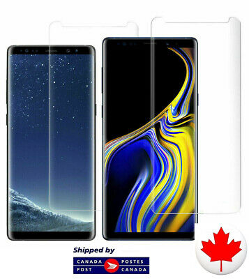 $ CDN5.25 • Buy Galaxy Full Screen Coverage Curved Samsung Protector S9 S9+ S10 S10+ NOTE 10 10+