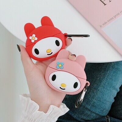$ CDN6.04 • Buy For AirPods Pro Case 3D Cartoon Cute Bunny Silicone Earphone Charging Case Cover
