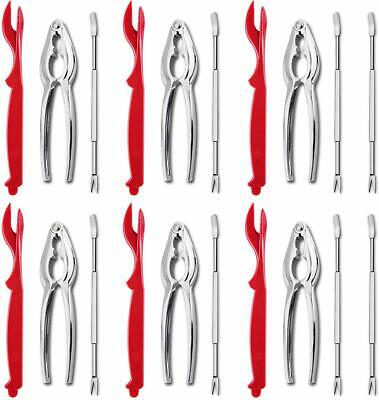 Artcome Seafood Tools Set Forks, Crab Crackers And Lobster Shellers Nut Cracker • 19.99$