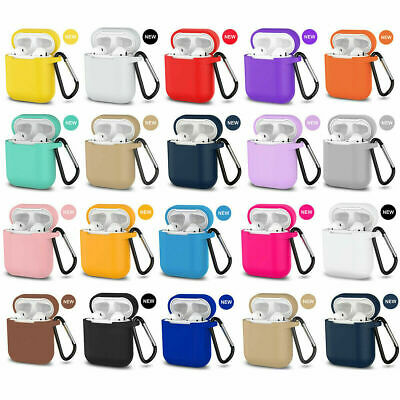 $ CDN3.82 • Buy AirPods Silicone Case + Keychain Protective Cover Skin For New AirPod Case 2 & 1