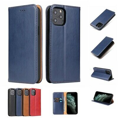 AU12.45 • Buy For IPhone 12 Pro Max 11 Pro Max Wallet Case Magnetic Leather Cover Card Holder